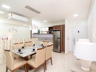 Aluguel Apartamento 2 quartos s/ 1 suite 80m Mar | Bombas/SC 148A Di Trento apto