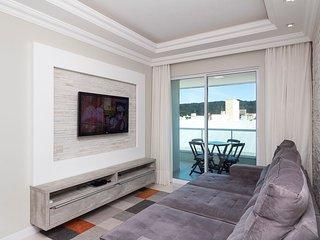 Aluguel Apartamento 2 quartos s/ 1 suíte 80m Mar | Bombas/SC