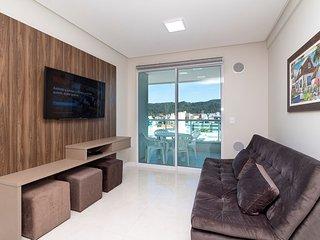 Aluguel Apartamento 2 quartos s/ 1 suíte 80m Mar| Bombas/SC