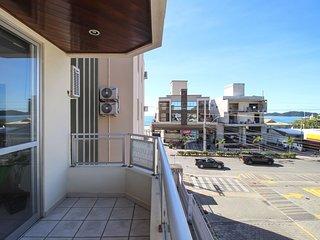 Aluguel Apartamento 2 quartos s/ 1 suíte 50m Mar | Bombas/SC