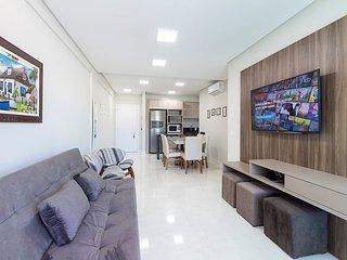 Aluguel Apartamento 2 quartos s/ 1 suite 80m Mar| Bombas/SC