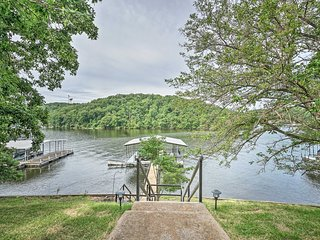 Waterfront Lake Ozark House w/ Private Dock!