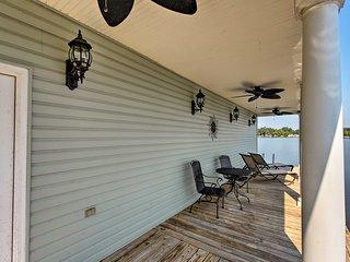 8,300 Sq Ft Guntersville Lake Home w/ Dock!