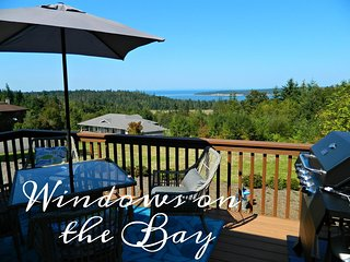 New Listing! Windows on the Bay, Comfortable luxury home with lovely water views