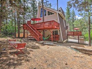 NEW-Big Bear Cabin w/Deck <2 Miles to Snow Summit!