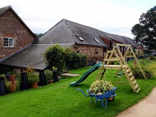 Character  cottage on a working farm. Ideal for families. couples or singles.