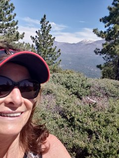 Nearby Pine Knot hiking trail takes you to this gorgeous view