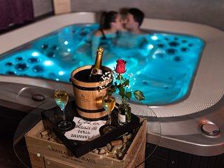 Wine Spa: Cabane de luxe pour escapade romantique