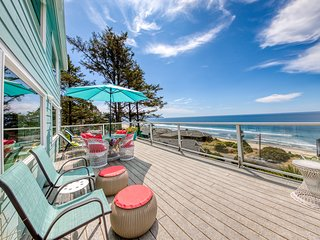 Family-friendly retreat with stunning ocean views & great location