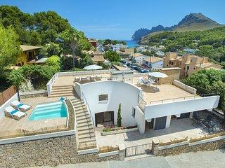 Sea Views Pure Mediterranean Villa Estrella de Mar con piscina