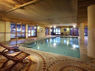 Appartement equipe et charmant proche des pistes, avec acces piscine