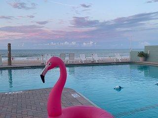 OCEANFRONT Flamingo Luxury Living Condo