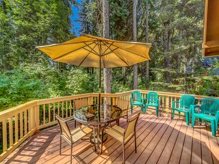 Partially secluded, dog-friendly home in McCall w/ a full kitchen & great views