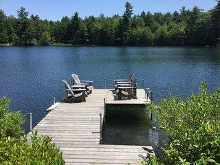 Lakefront home w/ private dock, kayaks, canoe & incredible views!