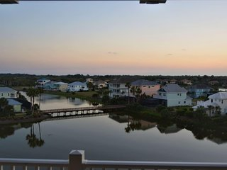 Spectacular Sunsets from 5th Floor Lakeside Condo in Ocean Front Community