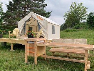 Tentrr - A Hilltop View Campsite