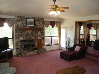Living room seen from the dining room