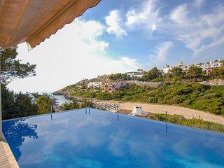 Villa Mandia, Cala Mandia, Porto Cristo con espectaculares vistas al mar