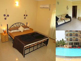 01) Luxury serviced apartment close to the sea in a 4* resort