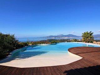 Villa Sole Rossu- Vue mer panoramique - Piscine chauffée - meublé classé 5*