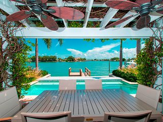 The Islander 466 Harbor Dr Waterfront House with private pool