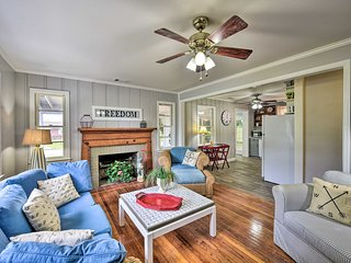 NEW! Beaufort Home w/Porch, 4 Mi. from Downtown!