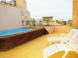 Cod 321 Excelente Cobertura Duplex com piscina privativa 321