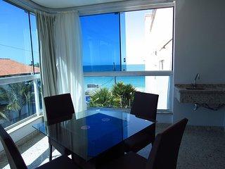 Cod 511 Apartamento Frente ao Mar em Bombinhas com 03 suites e Piscina 511