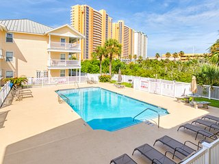 NEW LISTING! Coastal condo with complex pool - across the street from the beach