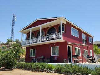 Valle De Guadalupe Villa De Coral Mountain view wineries & restaurants nearby
