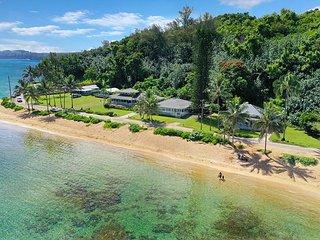 Idyllic and Magical Anini Beach 2 bedroom 2 bath ocean front
