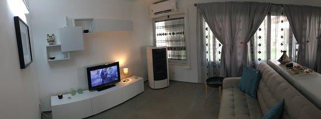 La nostra Suite climatizzata per estate ed inverno con condizionatore e Stufa a Pellet canalizzata