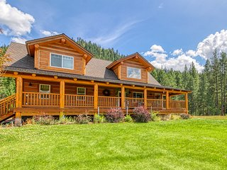 NEW LISTING! Dog-friendly log home w/ covered decks - near outdoor recreation!