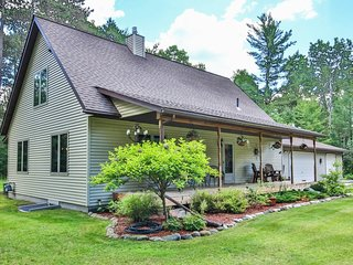 Charming dog-friendly house w/ private sauna, fireplace, & furnished basement!