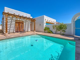 NEW LISTING! Dog-friendly Santa Fe-style home w/ mountain views & a private pool
