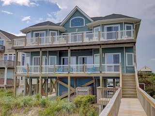 Porpoise Place 30 Oceanfront! | Elevator, Internet, Fireplace, Linens Provided,