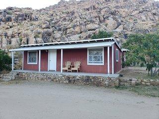 Cute rustic farmhouse cabin on a historic ranch