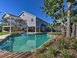 NEW! Canalfront Home w/Pool - 12.6Mi to Gulfport!