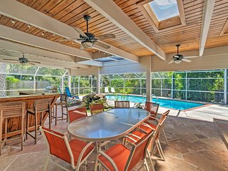 NEW! Siesta Key 'Casa Serena' w/ Pvt Pool + Lanai!
