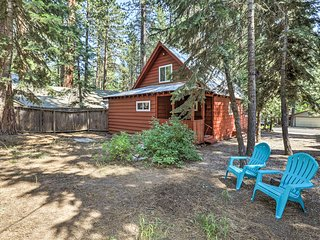 Walk to Kings Beach From Lake Tahoe Cabin w/ Deck!