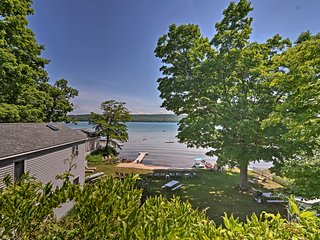 NEW! Lavish Apartment w/Decks on Little Glen Lake!