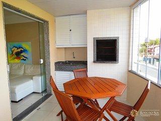 Cód 034 Ótimo apartamento para 05 pessoas, 02 vagas de garagem, Wi-Fi