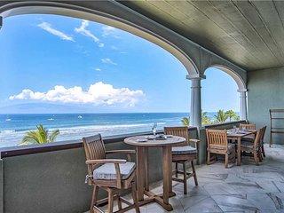 Lahaina Shores Penthouse #3 Oceanfront