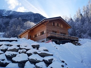 Nice chalet with terrace & Wifi