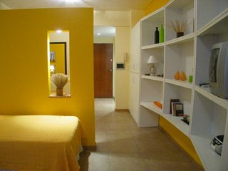 Luminous Studio A125 Vacation Rental located in the center of Barrio Centro, Bue