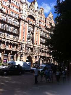 If you're arriving/leaving from St Pancras International train station, it's just a 10 min walk away