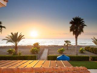 Anthiana Beach Villa, Argaka- Seafront Villa with Established Garden/Pool Area