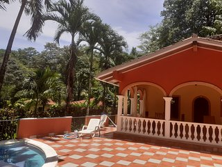 La Perla del Caribe - Pool view Suite - Romeo&Juliet Villa - Downstairs room