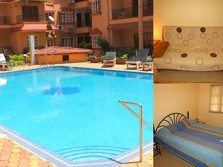 42) Serviced Apartment Kyle Gardens & WiFi - Calangute/Baga