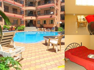 40) Serviced Apartment Calangute/Baga Sleeps 4